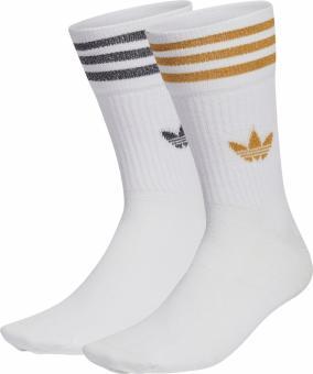MID CUT GLT SCK wadenlange Socken Glitzer adidas