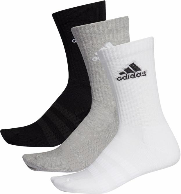 CUSH CRW 3er Pack Socks Socken Herren adidas