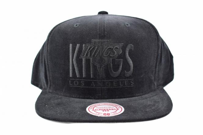 BOTTOM LINE LOGO SNAPBACK LA KINGS