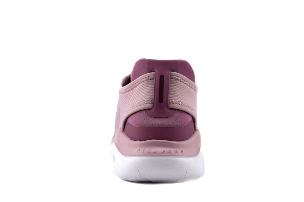 Mens Womens Nike Free RN Flyknit 2018 Running Shoes Black White Pink NIKE ND007371